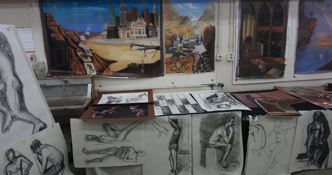 randolph algera exposities februari 2014