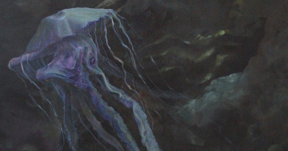 randolph algera schilderijen jellyfish