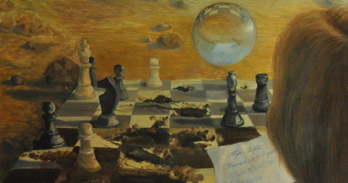randolph algera schilderijen schaakmat